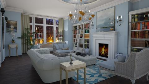 Template Baywindow Room - Classic - Living room - by sephara
