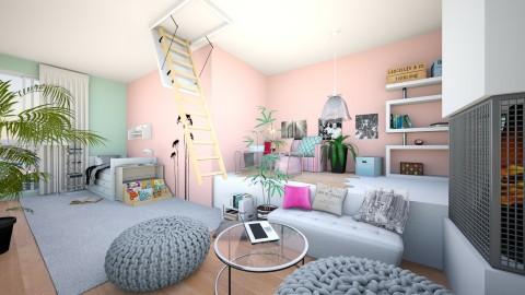 my dreams room - Bedroom - by kartofelzaglady97