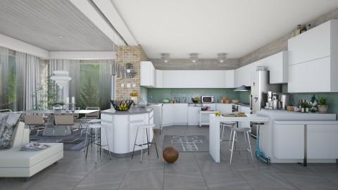 family 2000  - Modern - Kitchen - by Ida Dzanovic