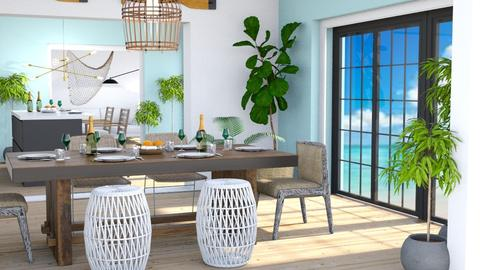 Coastal Remix - Dining room - by millerfam