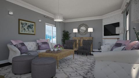 Family Room - Living room - by meggle
