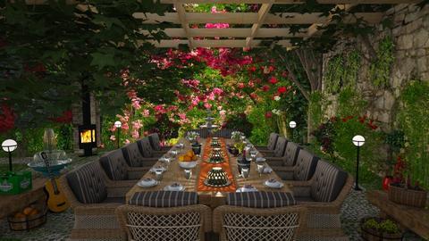 Garden Party  - by lydiaenderlebell