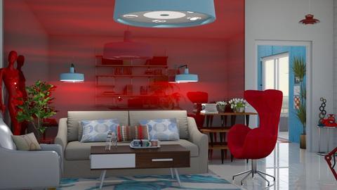 SRR - Retro - Living room - by Tree Nut