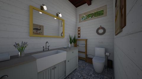 county bath  - Country - Bathroom - by Netalie Treistman Ben Zaken