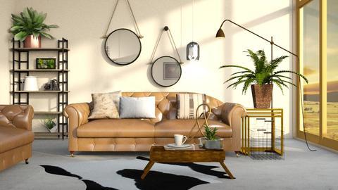 Urban Blush - Modern - Living room - by Jessica Fox