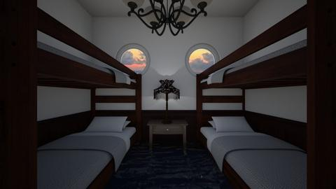 4 Berth Ship Cabin Flood - Bedroom - by SammyJPili