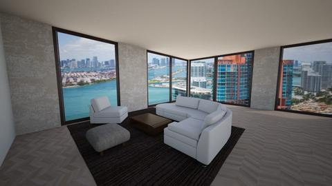 dockland - Living room - by stic