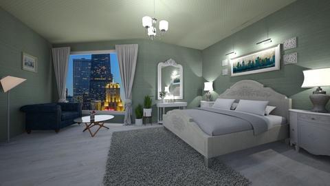 shabby chique bedroom - by Spencer Reid