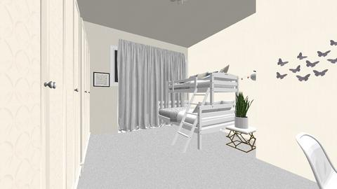 my room and mathieus room - Modern - Bedroom - by lollslolly
