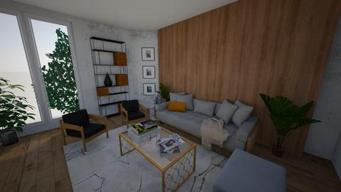 sala - Living room - by daanilopess