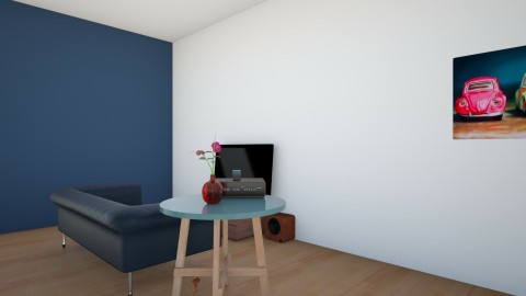 appartment 1 - Living room - by the desingner