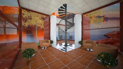 BronzePatio - Minimal - Office - by lori gilluly