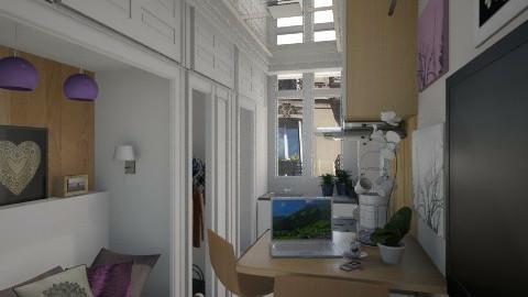 Paris tiny room - by KittiFarkas
