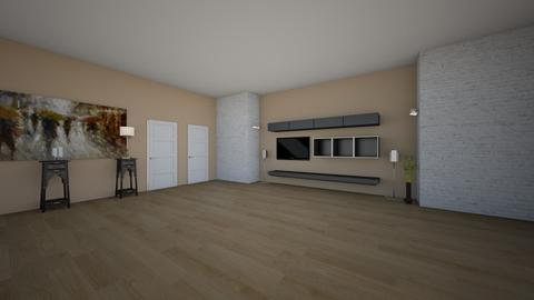modern living room - Living room - by ivanabinevska