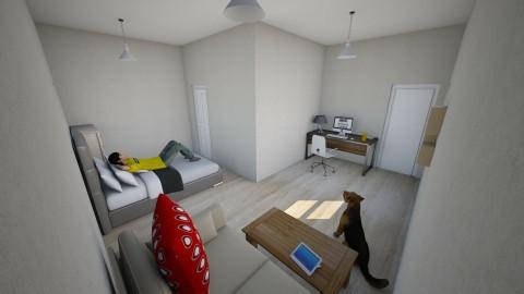 pierwszy projekt - Living room - by Peter Piotrek