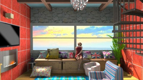 Beach House - Country - Living room - by BarcaNumber10