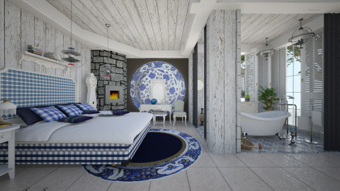 old and new time - Eclectic - Bedroom - by Ida Dzanovic