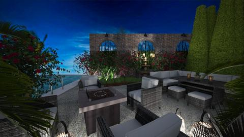 patio - by Connie Davis