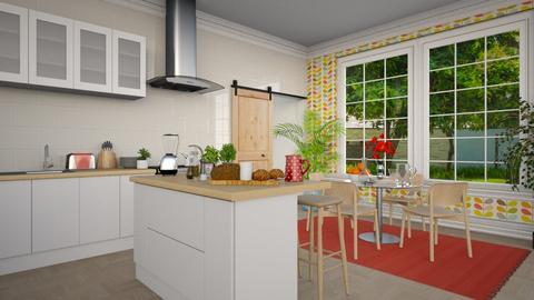 ek - Kitchen - by anjaam