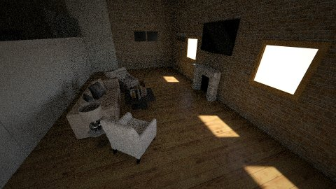 two story _fixed floor_ - Living room - by valentin_fp