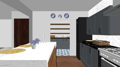Proyecto Materiales - Kitchen - by xgoos