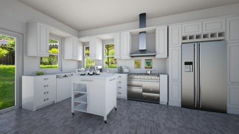 Sleek - Kitchen - by mmccarth17