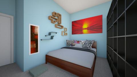 Bedroom1 - Minimal - Bedroom - by kelliemward