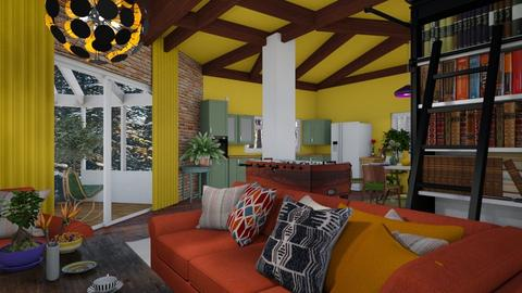 kotage living room 3 - by Moriia