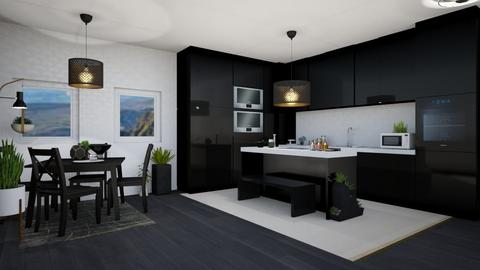 Boho Kitchen 3 - Modern - Kitchen - by Isaacarchitect