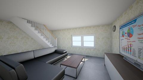Hong Kong Living Room DEM - Living room - by Vera Chan