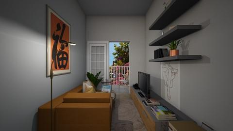 Casa223LivingArea - Modern - Living room - by nickynunes
