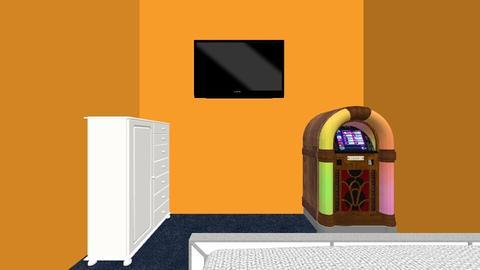 80s Dorm Room - Bedroom - by kyleighf_