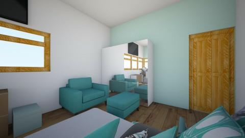 My - Modern - Bedroom - by magdalenamm