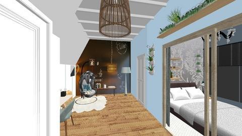 Slaapkamer Sanne bureau - by Lokke Interieurstyling
