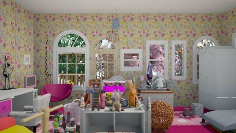 Girl 431 - Kids room - by TessaSantana