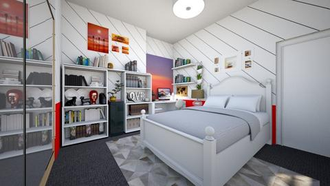 College kid - Bedroom - by ijustlikemakingfloorplans