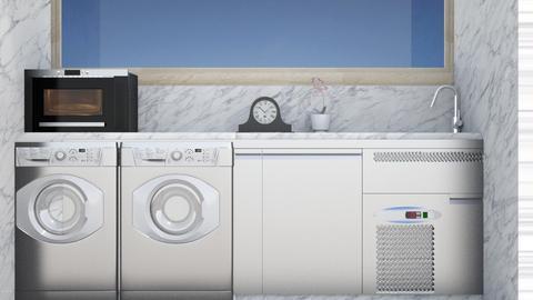 cuarto de lavado - by Claudia Servin leyva