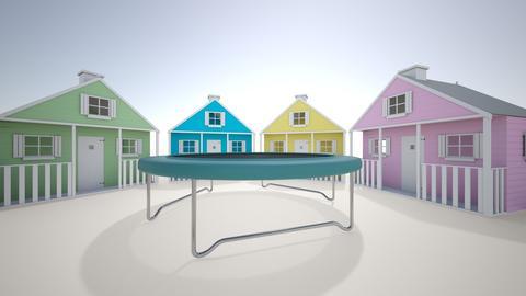 mansion kids yard - Country - Garden - by cinderella1111