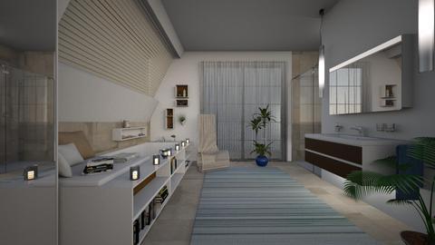 A Coastal Touch - Eclectic - Bathroom - by Theadora