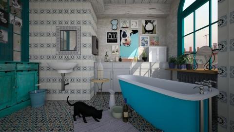 Identity Bohemian - Bathroom - by sativah