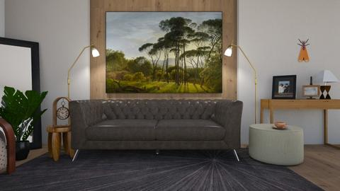 old sofa - Living room - by ClaraBart