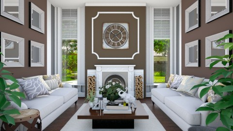 Cocoa Living Room - Living room - by Thea44