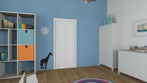 marine room 4 - Kids room - by AgaRy