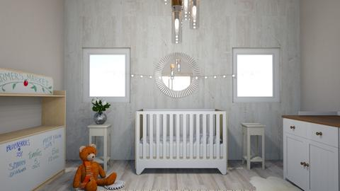 Farmhouse Baby Nursery - Rustic - by Benny Berman