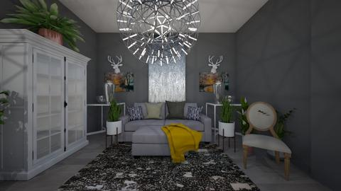Silver Mist - Living room - by iampebbles