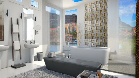 Rejuvenation! - Modern - Bathroom - by LadyVegas08