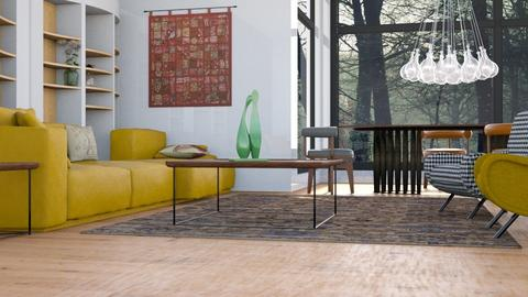 Eclectic Cabin - Eclectic - Living room - by Gurns