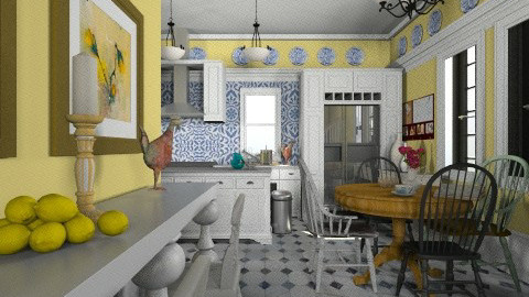 Classic Kitchen - Kitchen - by PomBom