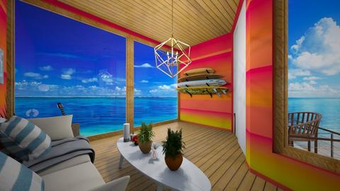 Surf Culture Living - Global - Living room - by Applestyler