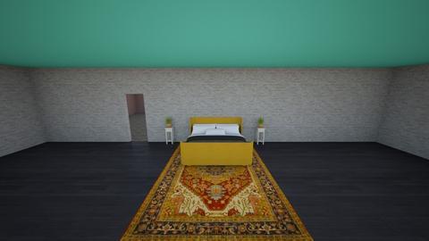 bear - Bedroom - by Portersans